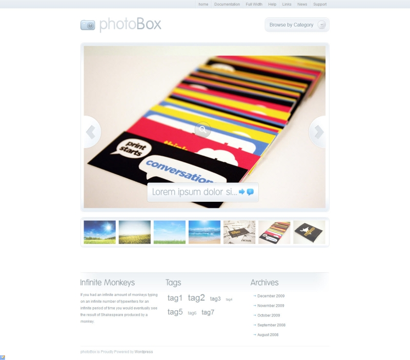 photobox theme WordPress